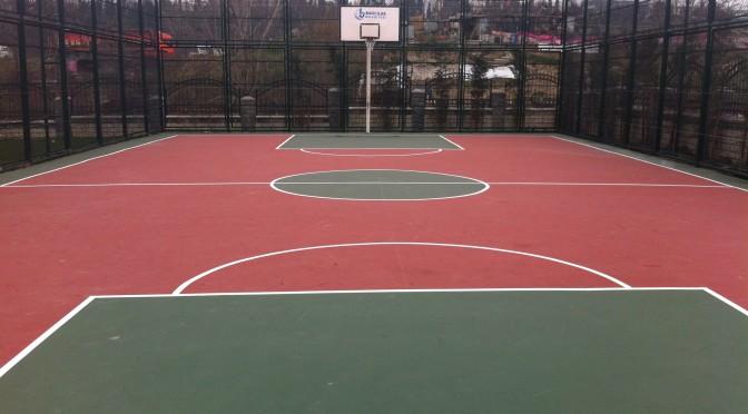 Bağcılar Belediyesi Basketbol Sahası Çalışması