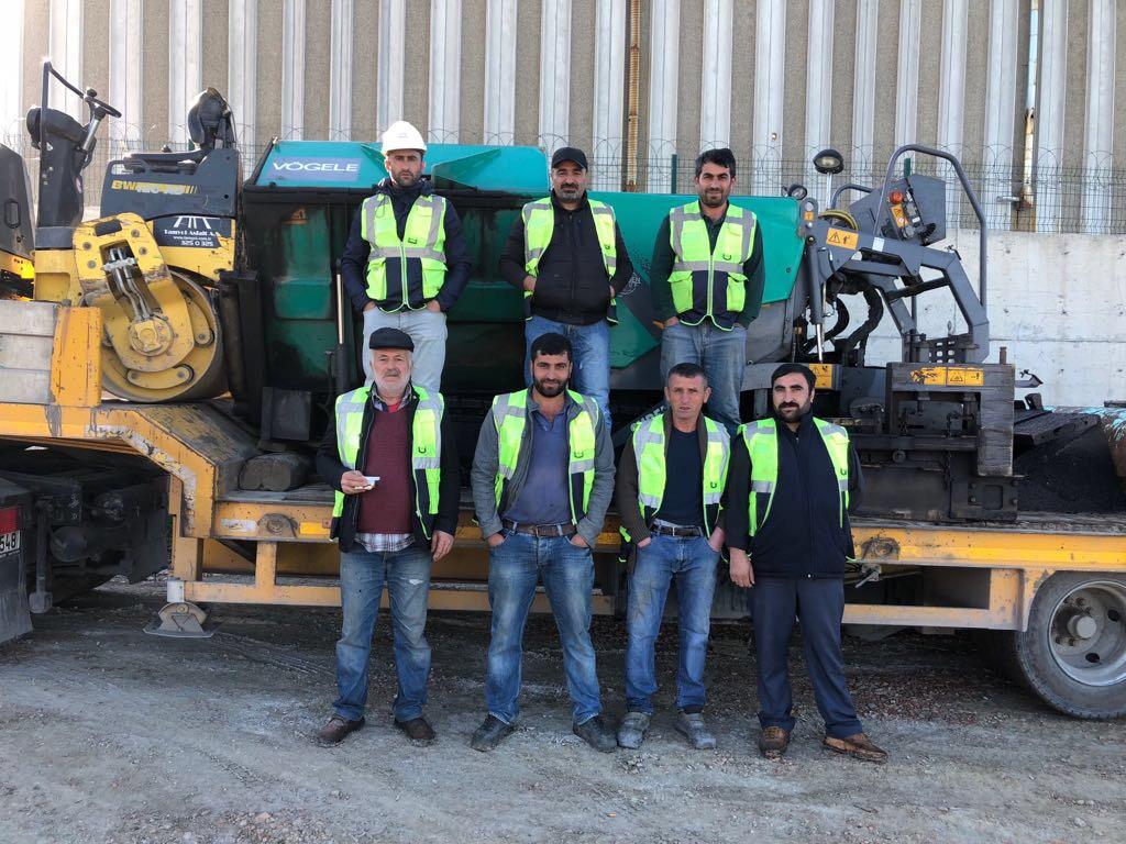 asfalt serim ekibi