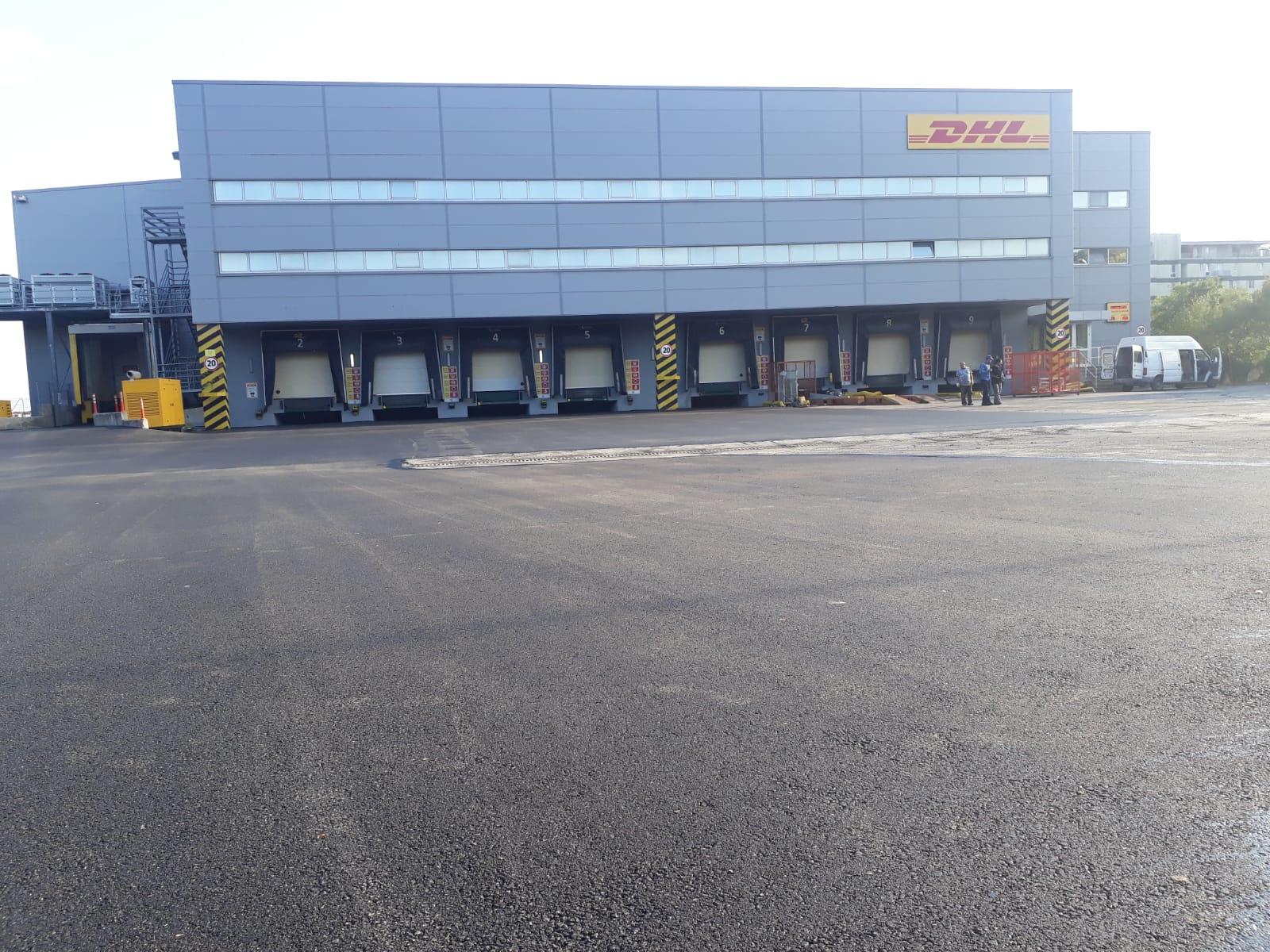 gebze tır parkı asfalt