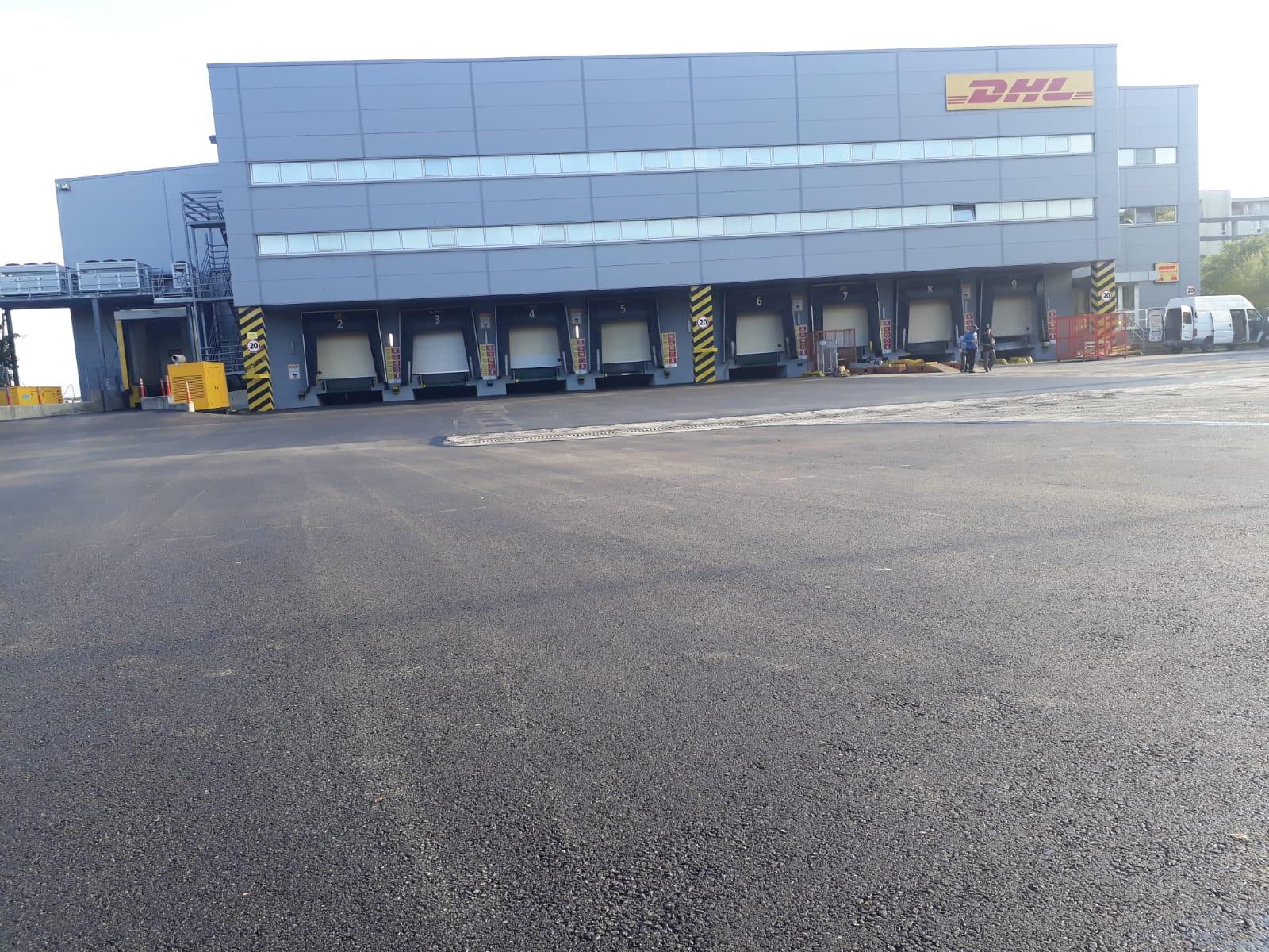 Otopark asfaltlama