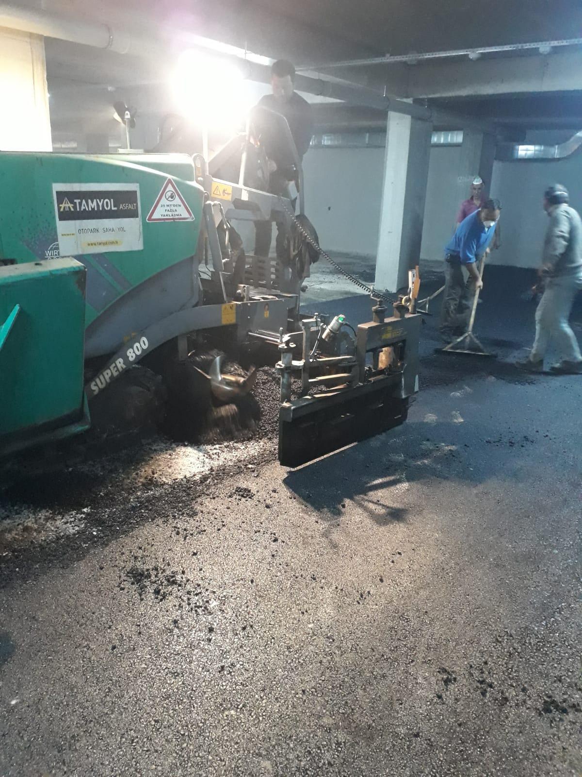 otopark asfalt