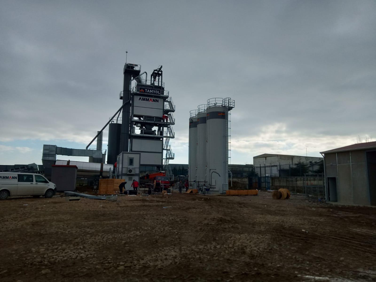 asfalt fabrikası gebze